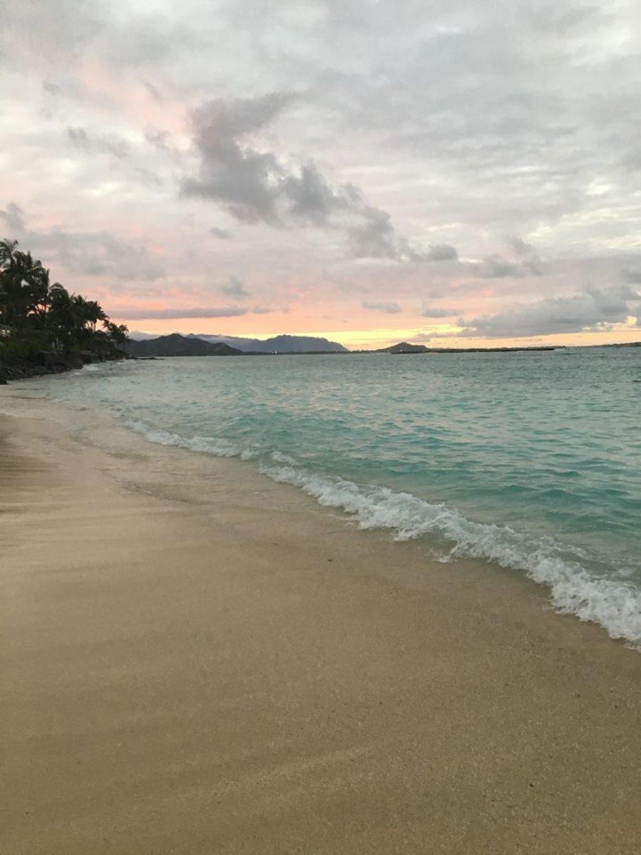 Sunset at Lanikai
