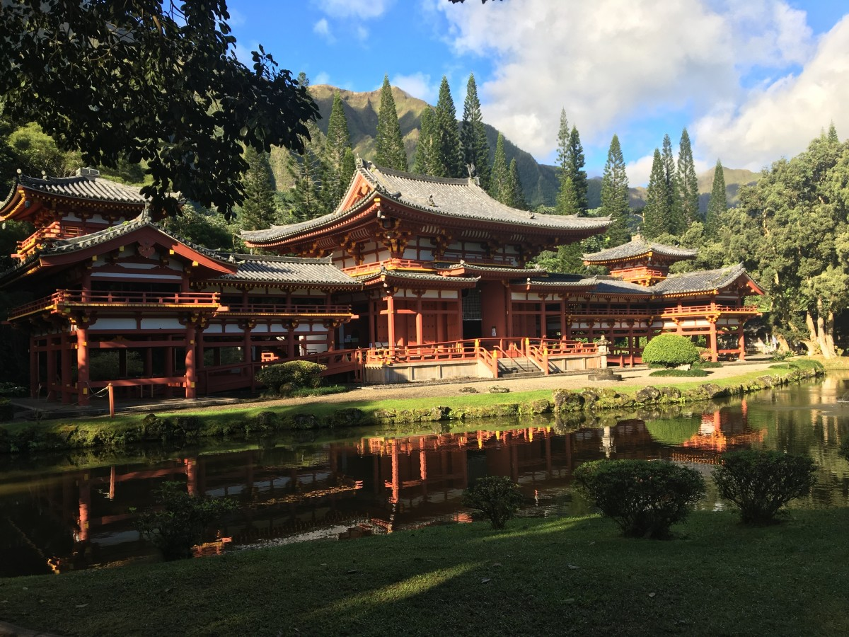 Beautiful and Serene Byodo-In Temple