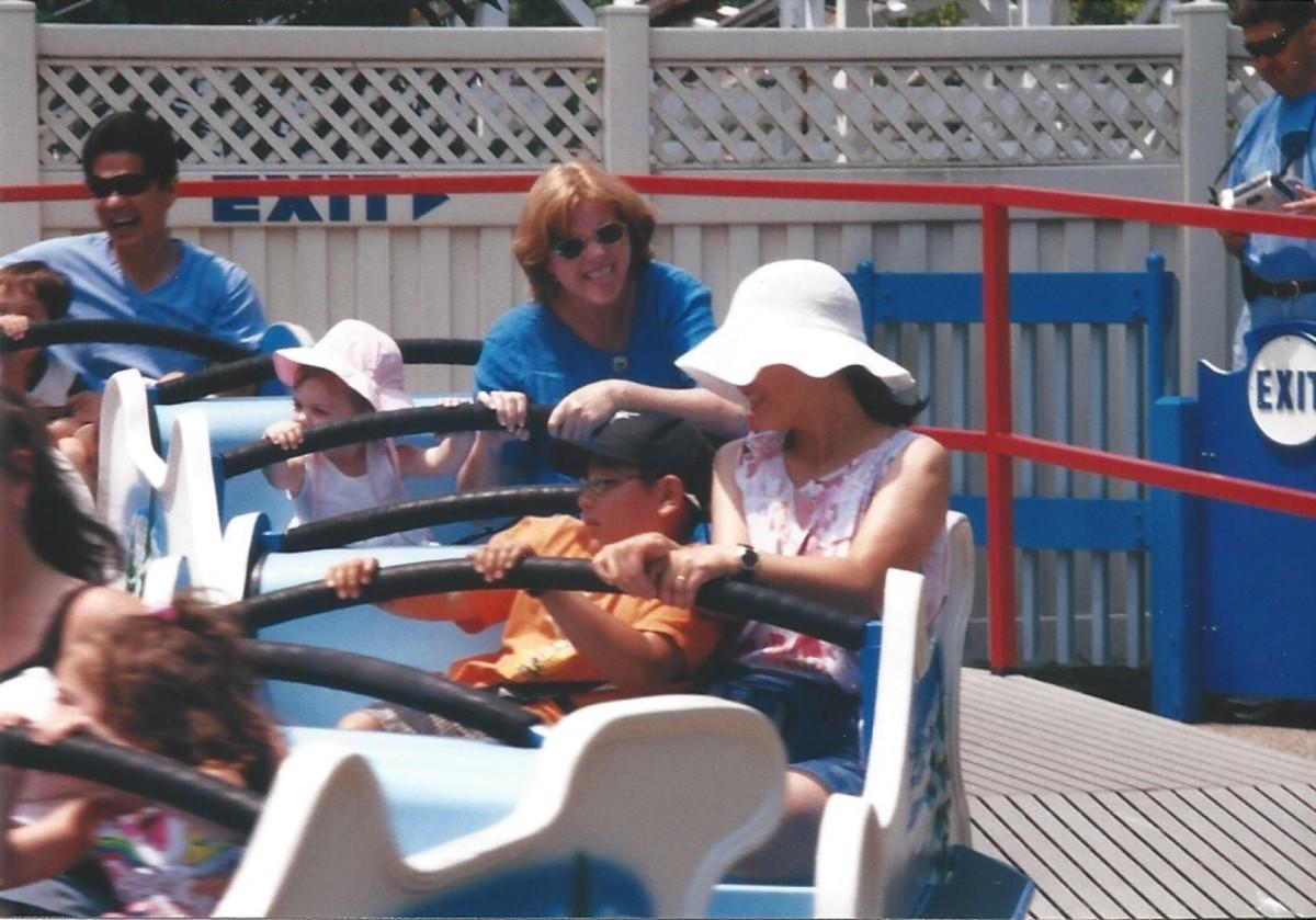 Kiddie Ride at Hershey Park