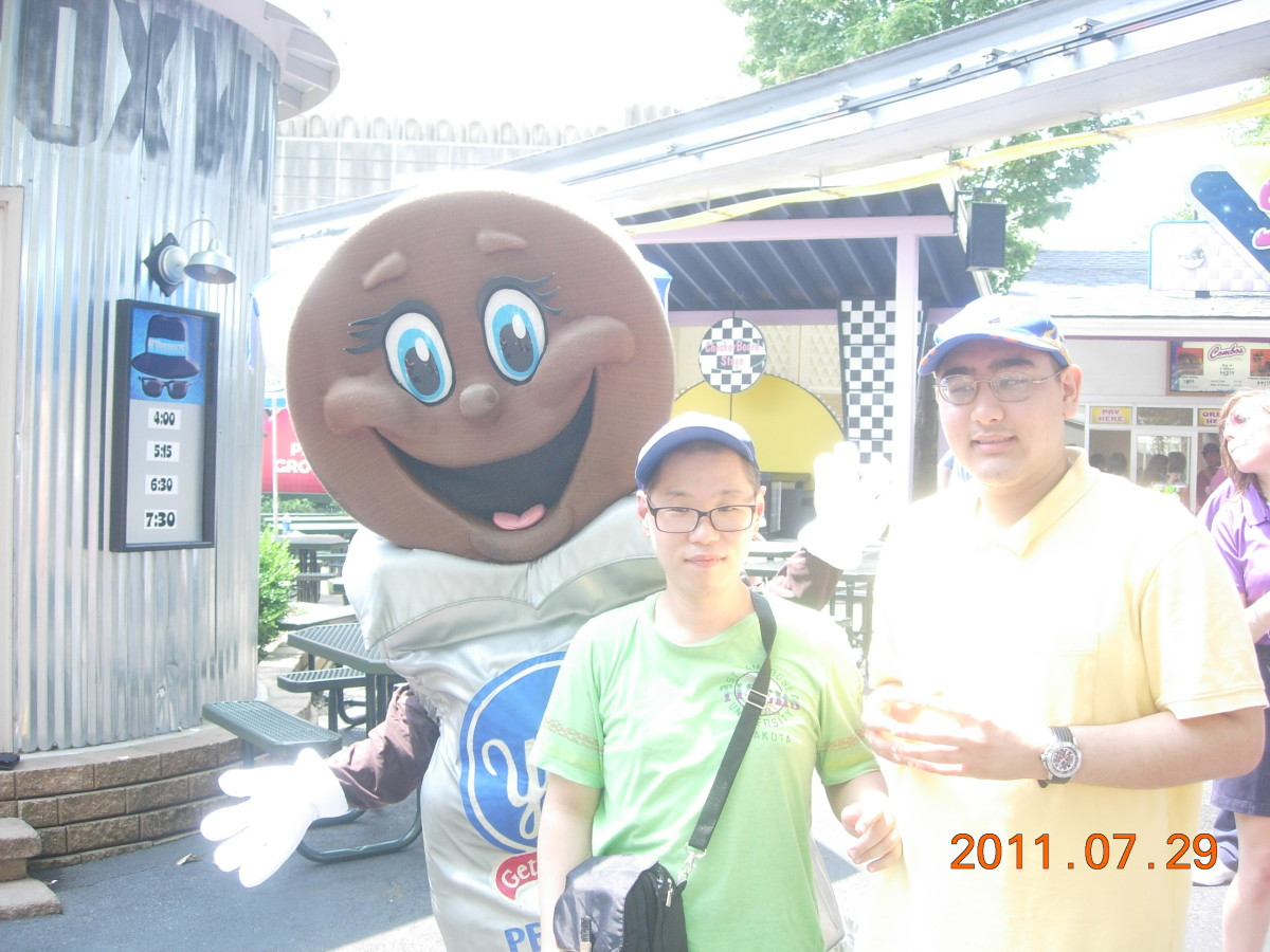 Hershey Park August 2011