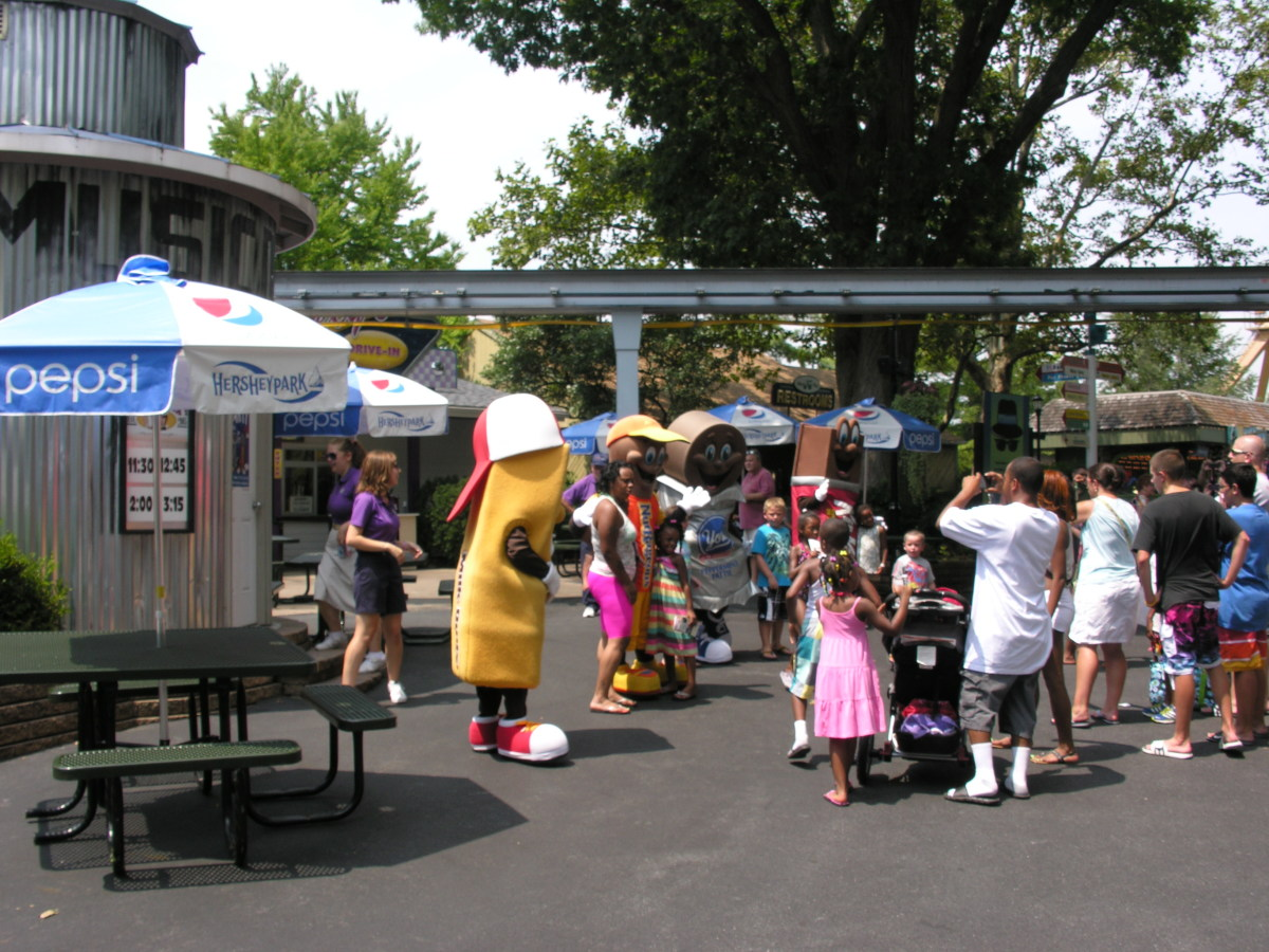 Hershey Park, August 2011