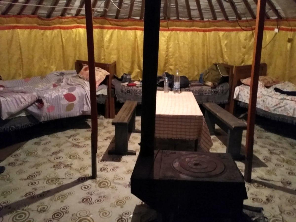 Inside a Mongolian Yurt/Ger