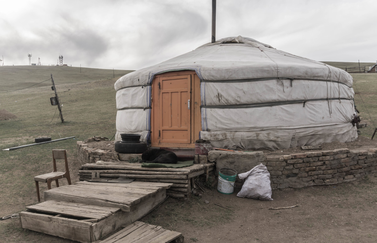 Staying in a Mongolian Ger