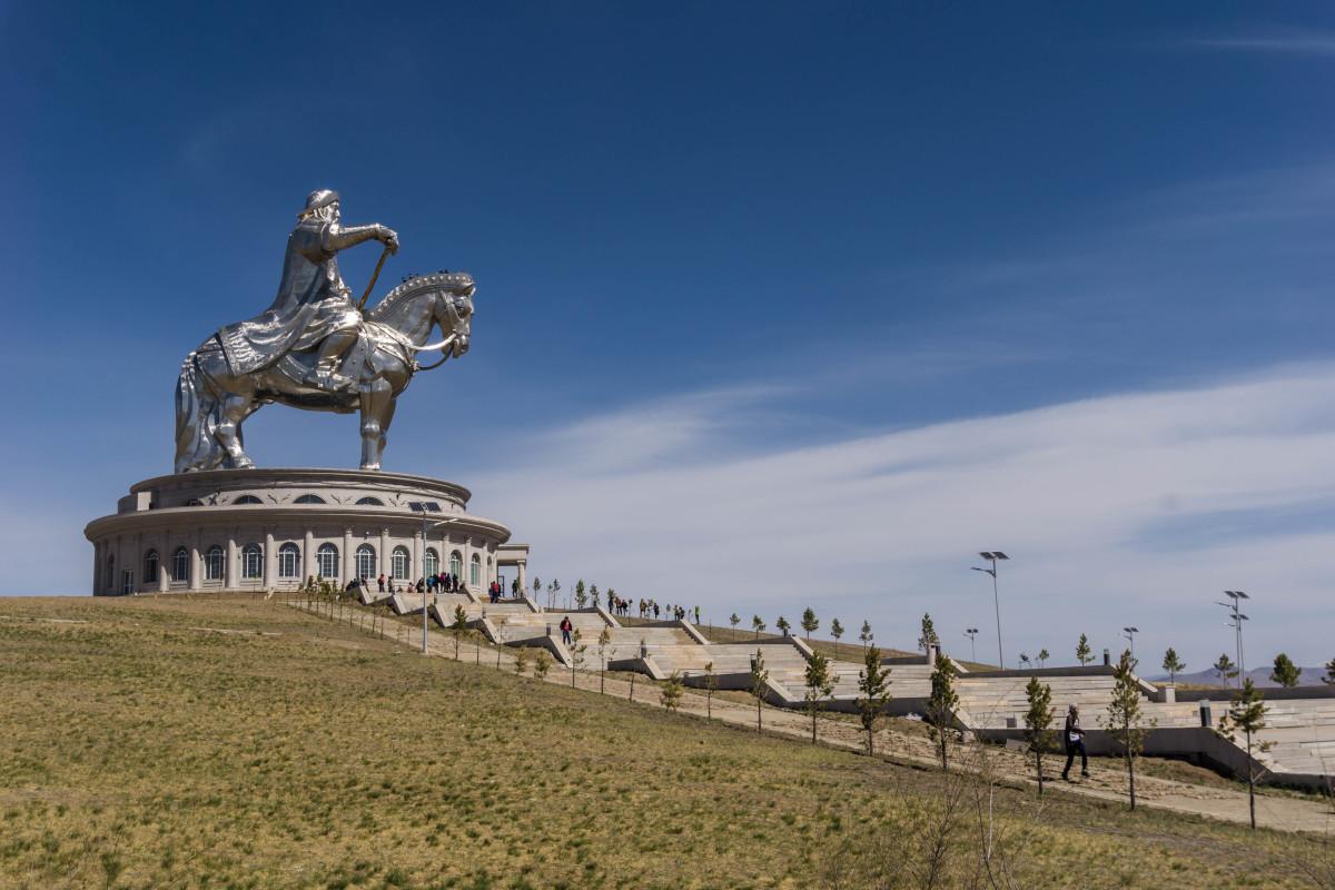 Chinggis Khan Equestrian Statue