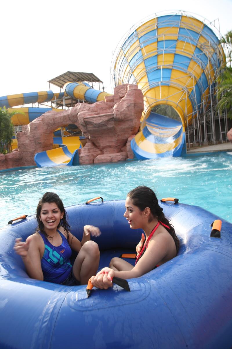 Tornado Ride at VGP Aqua Kingdom