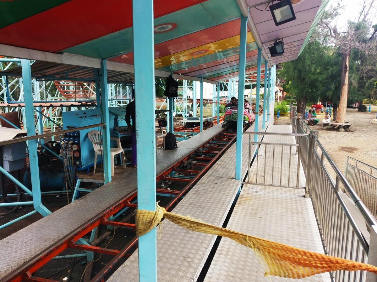 Roller Coaster Ride at VGP Universal Kingdom