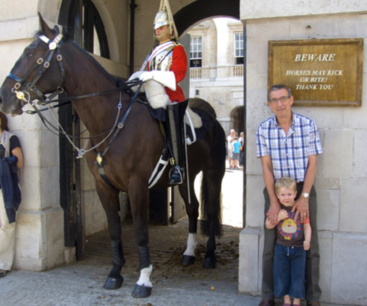 Queen's Life Guard, London