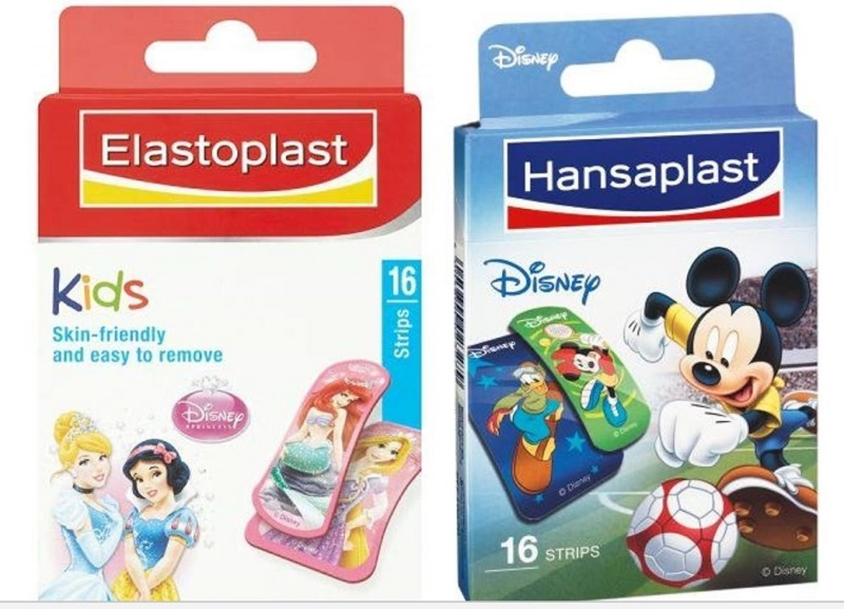 These kid's Disney plasters can turn a grazed knee into a mark of pride.