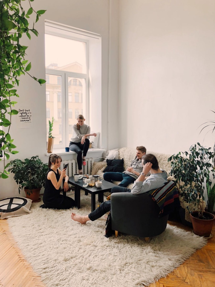 Be a good houseguest—don't invite other guests into your hosts' home.