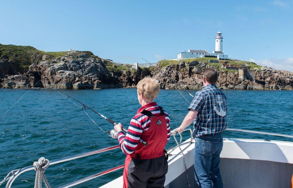 Fishing Off the Coast of Inishowen
