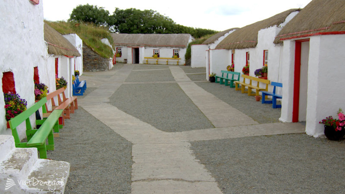 Doagh Island Famine Village