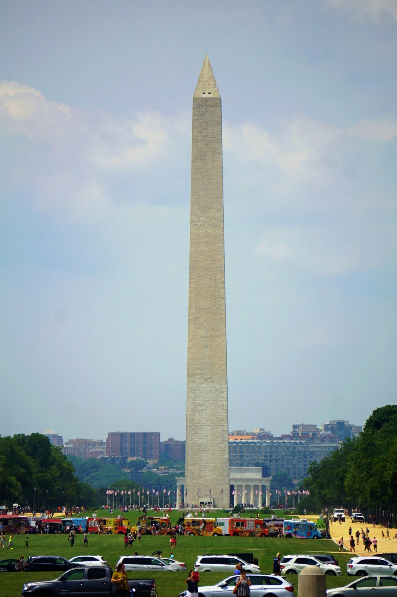 Washington Memorial at the National Mall in Washington DC