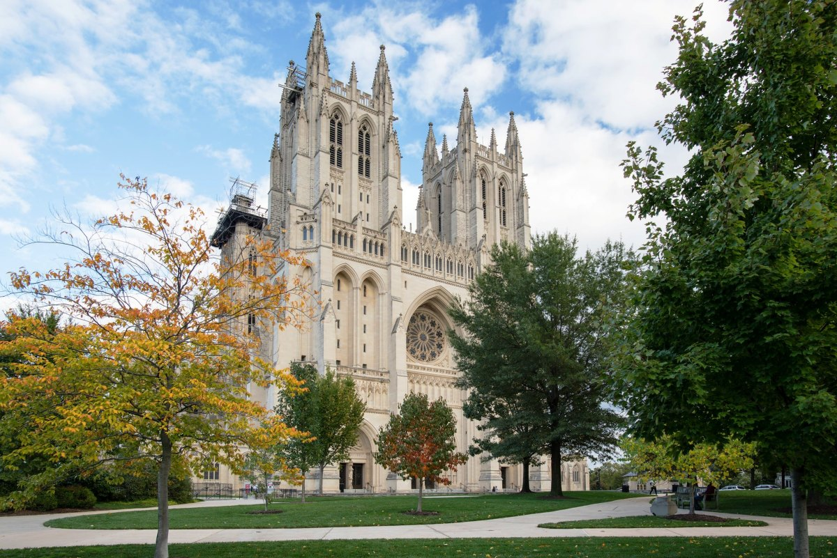 Washington National Cathedral in Washington DC