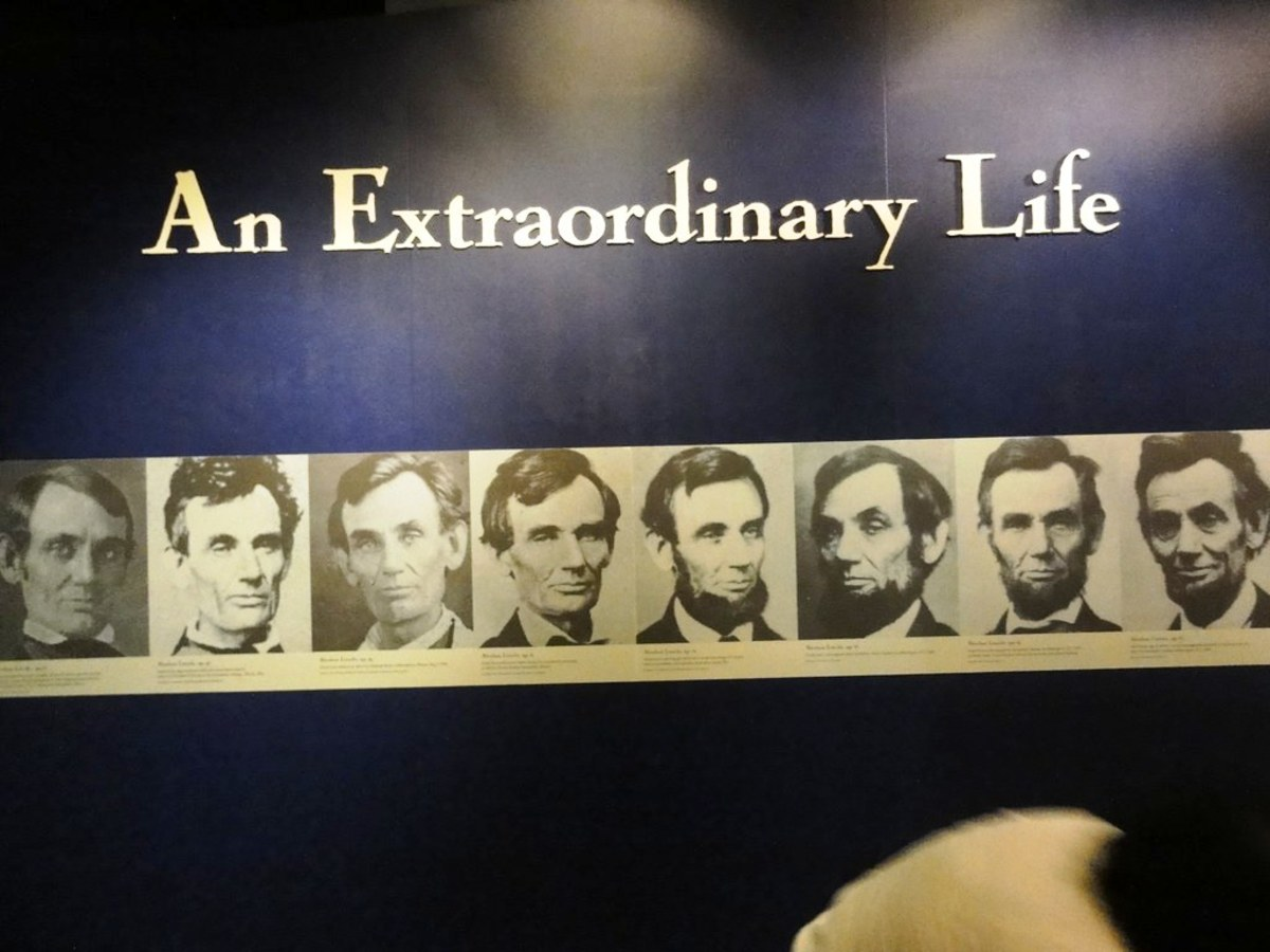 Abraham Lincoln at the National Museum of American History - Smithsonian Institution in Washington DC