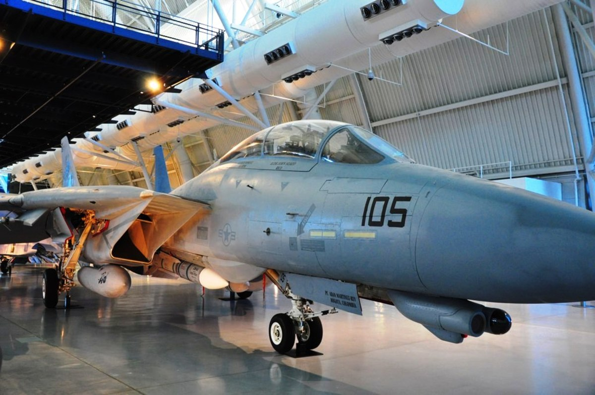 F-14 at the Smithsonian National Air and Space Museum in Washington, DC