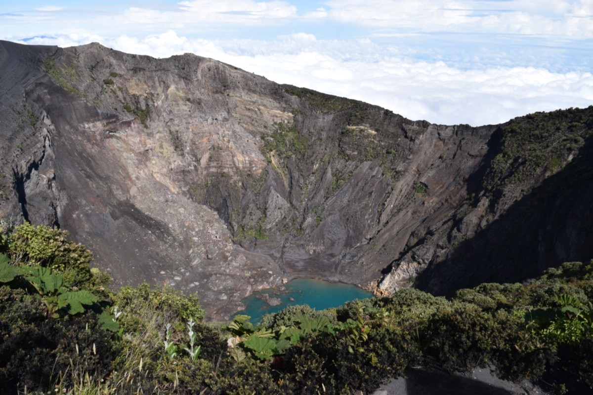 Volcanoes are one of the main attractions for visitors.