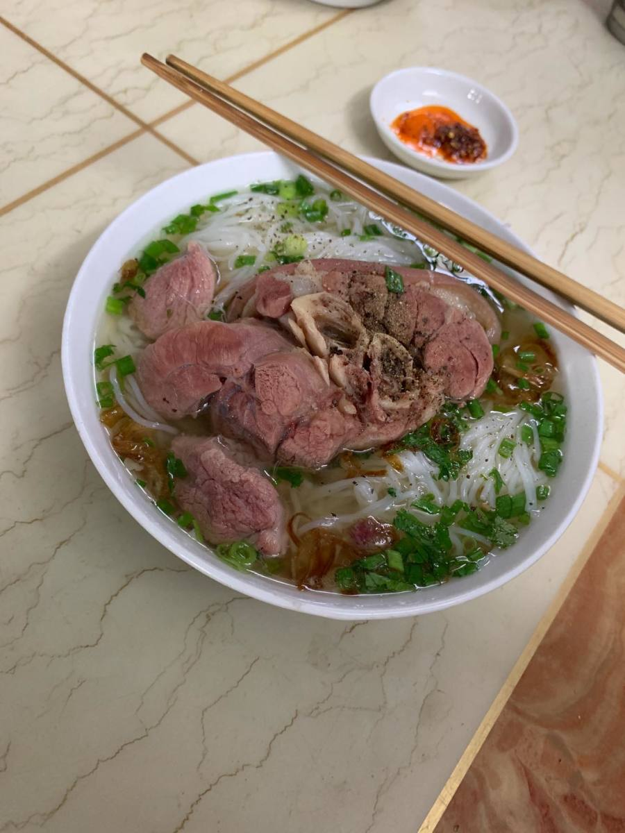 Vietnamese Pho is some of the healthiest and most delicious food you will ever taste! At $1.25, this was a steal.