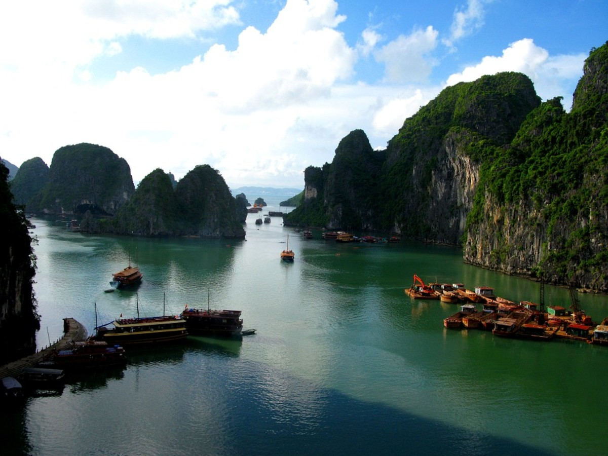 Sail along Ha Long Bay for incredible views!