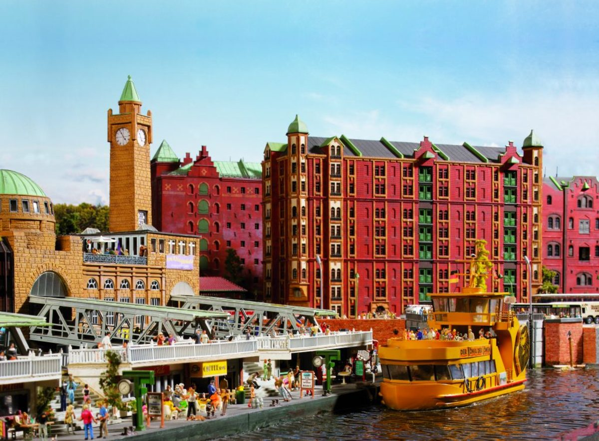 The Hamburg Waterfront is home to Miniatur Wunderland.