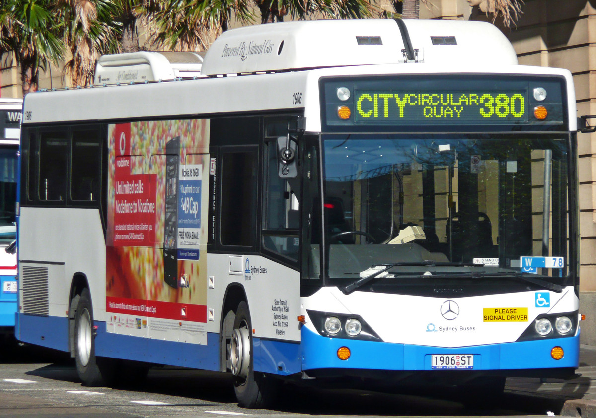 Sydney buses travel through every suburb in the city