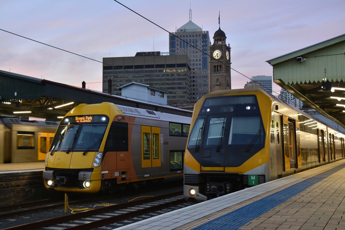 Sydney has a vast and easy-to-use train system.