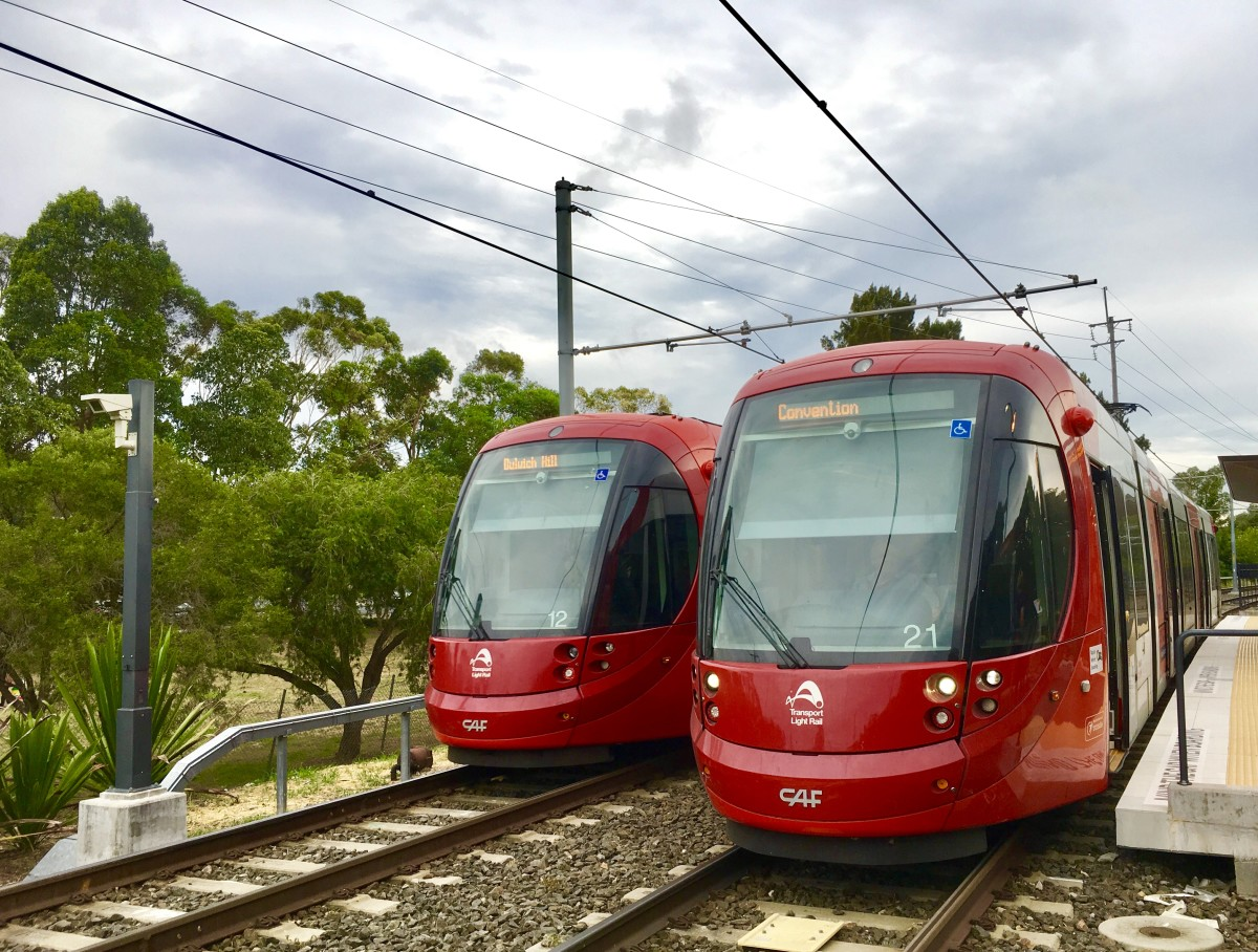 Sydney's light rails can help you get to destinations not easily accessible by bus or train otherwise.