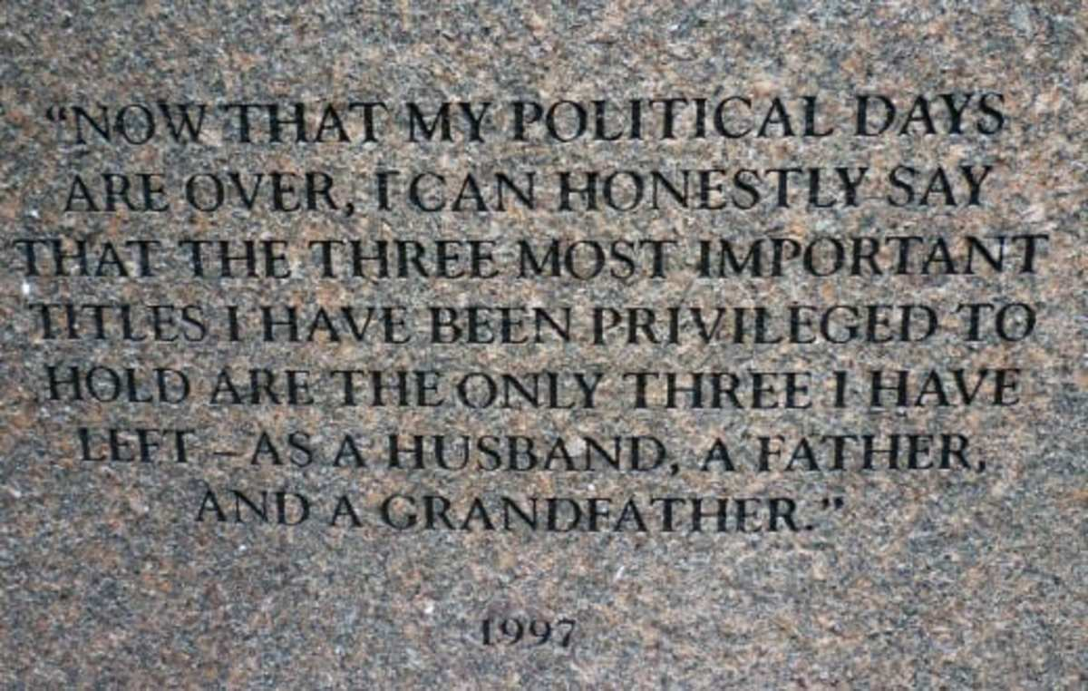 Quote from former President George H. W. Bush