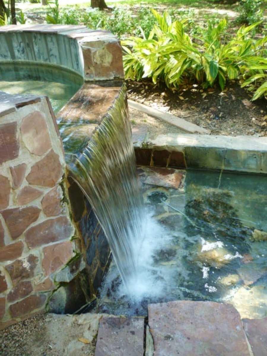 Falling Water in Bell Park