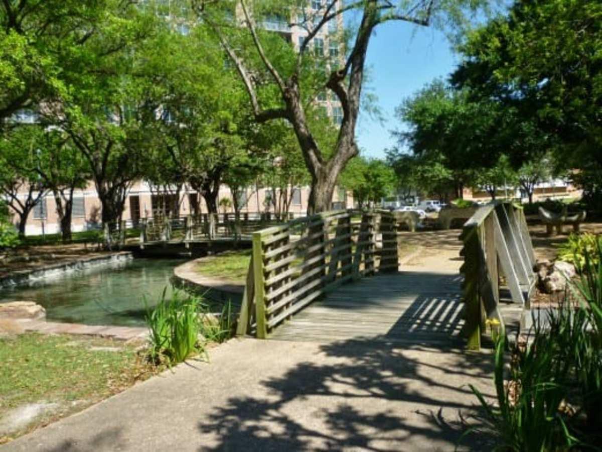 Bridges in Bell Park