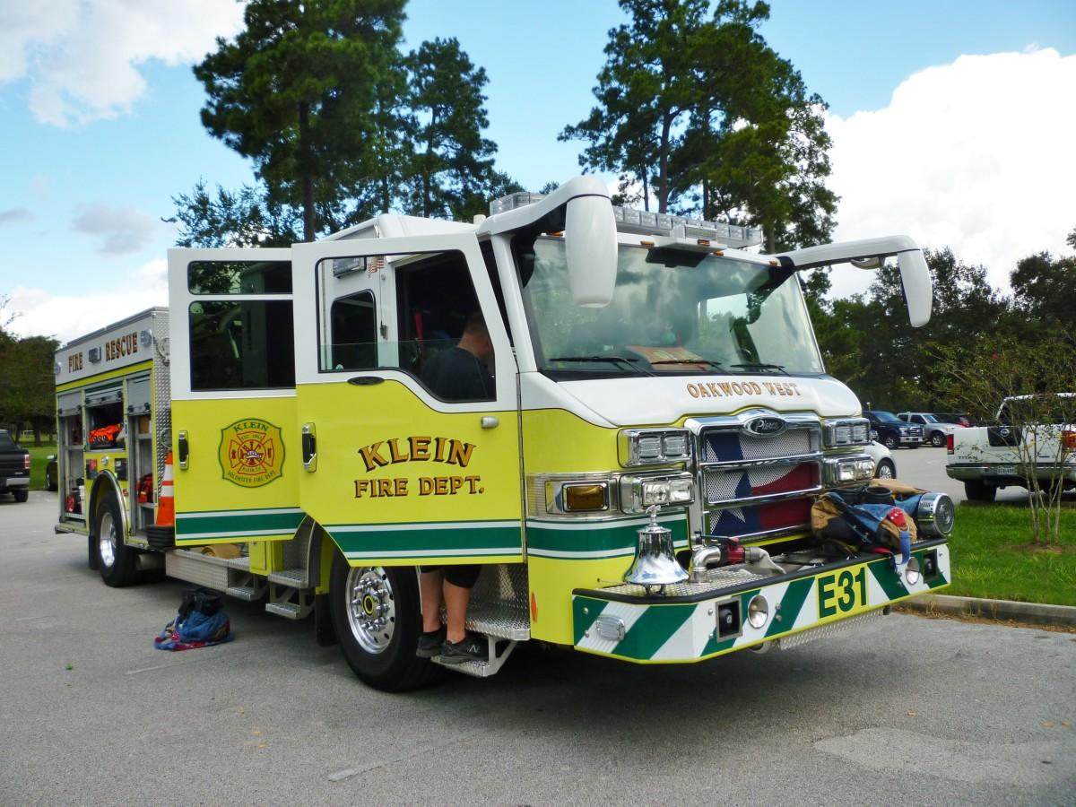 Firetruck in Meyer Park