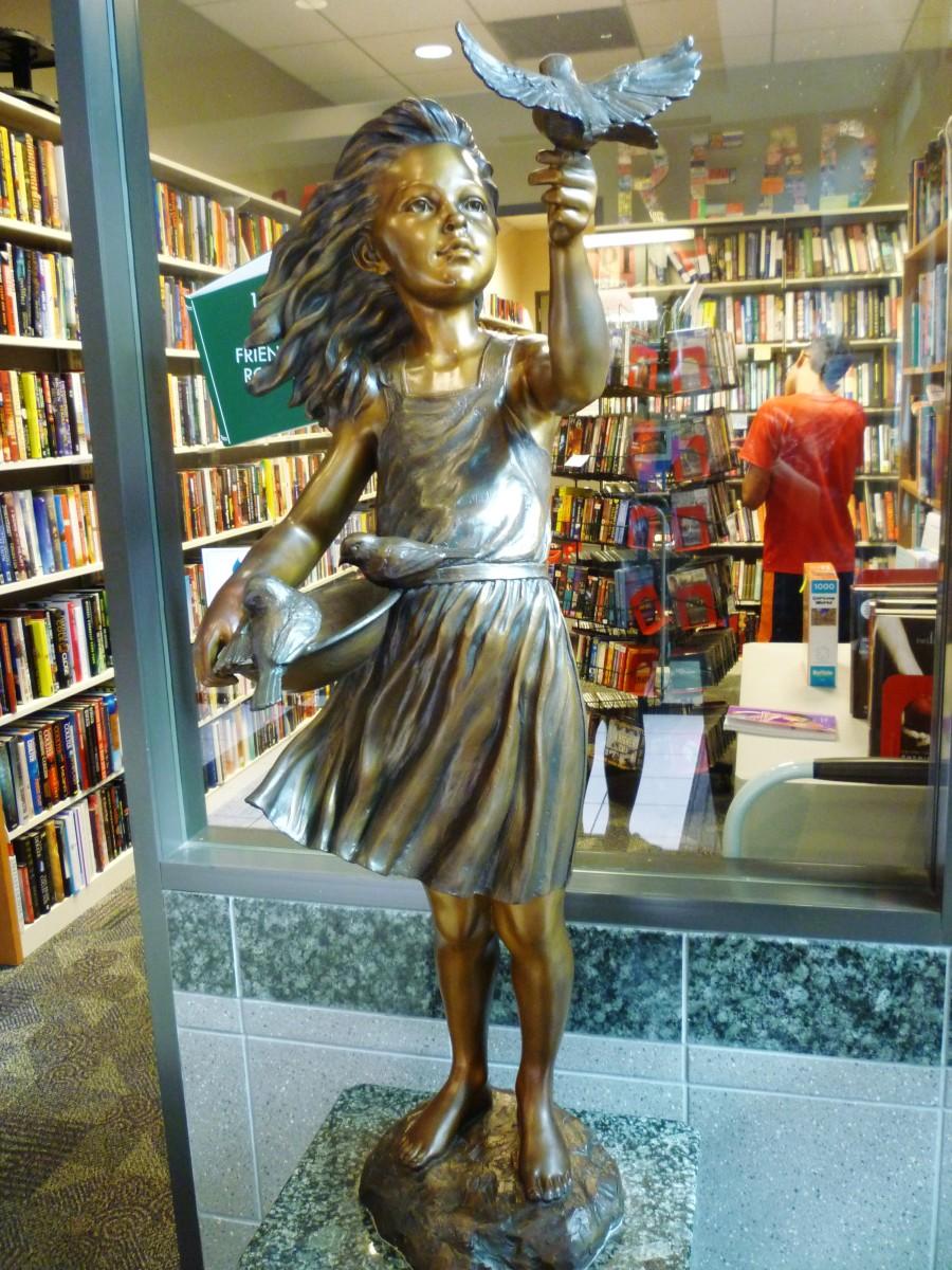 Sculpture in Memory of Robin Bush