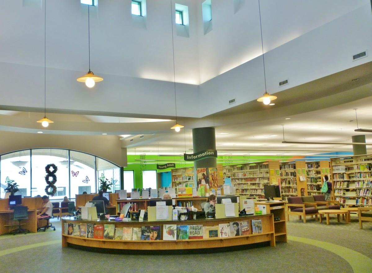 Barbara Bush Library Upstairs