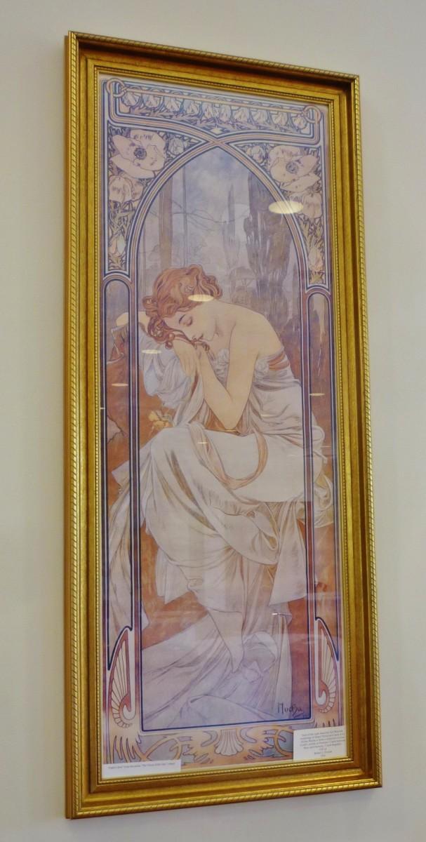 Czech Center Museum Art – Alphonse Mucha print