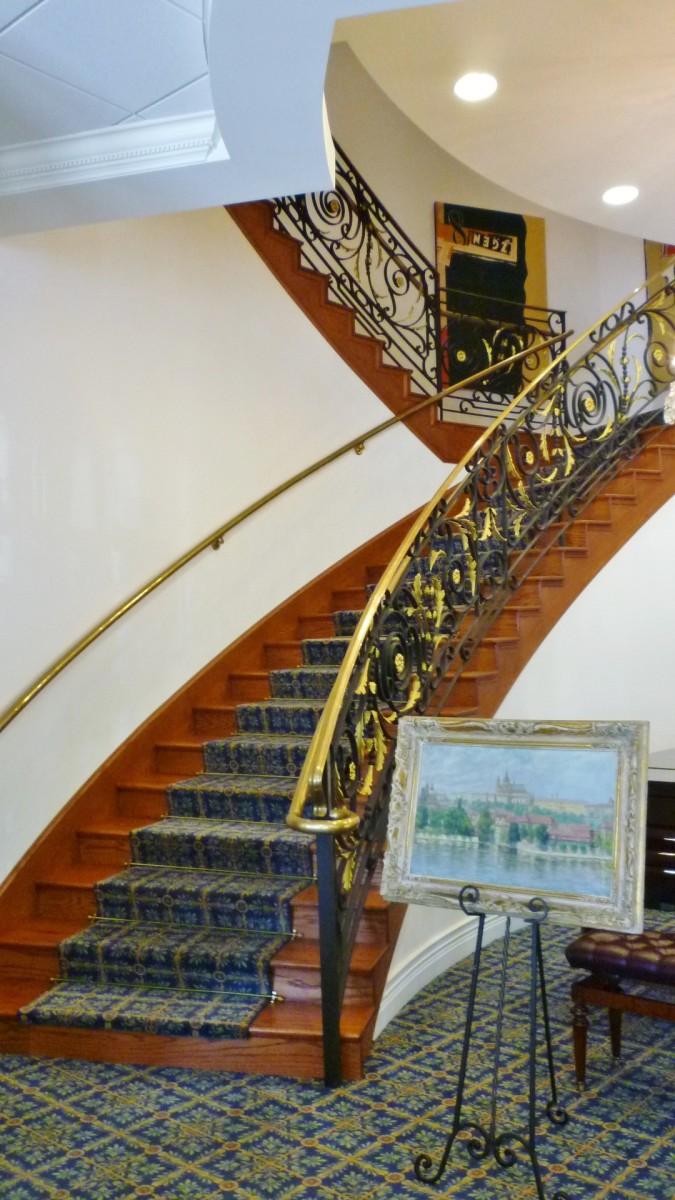 Czech Center Museum staircase