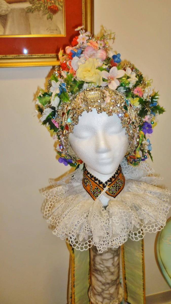 Czech Center Museum wedding headdress