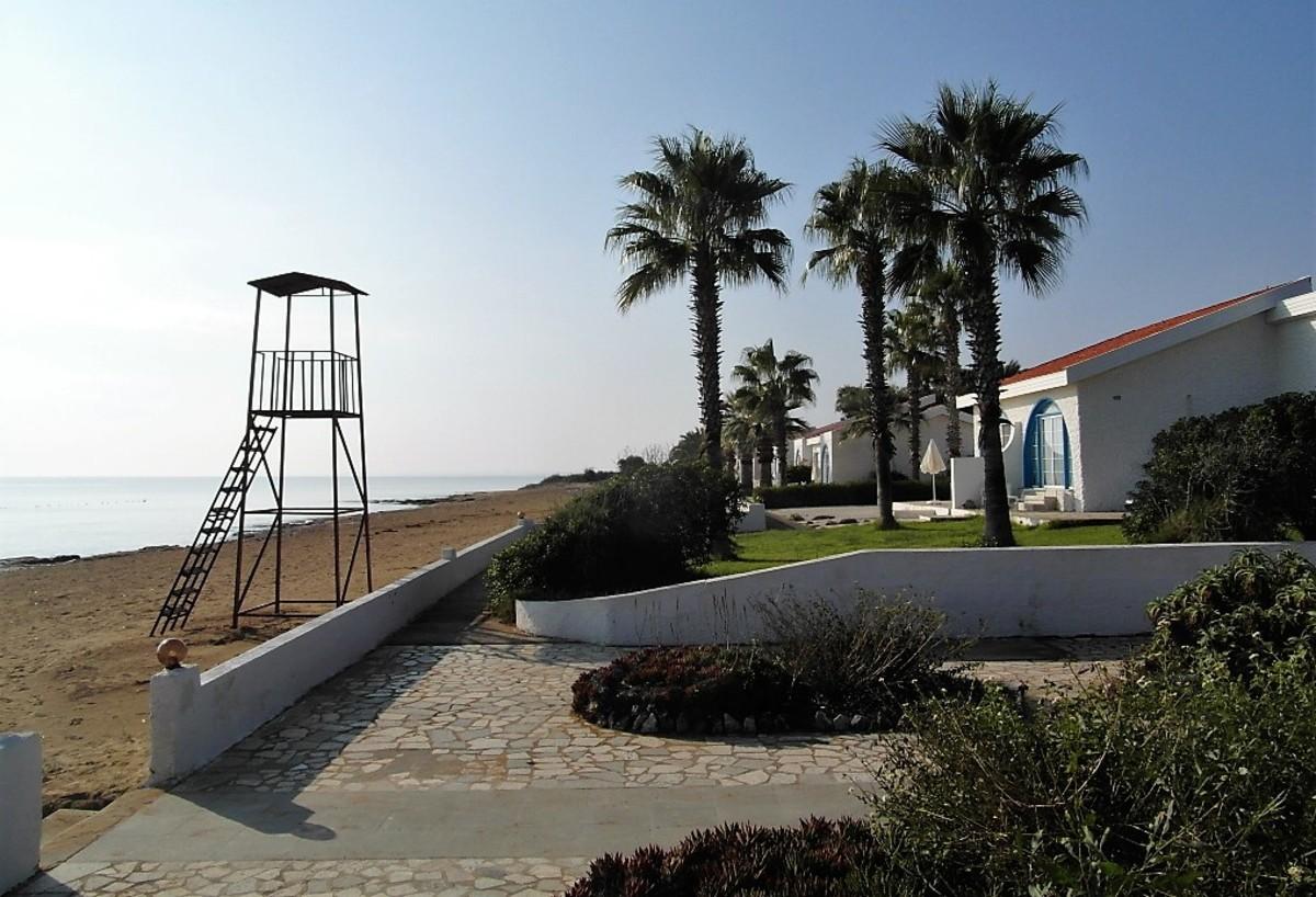 Path by the beach.