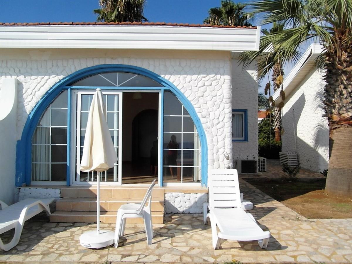 Mini villa terrace.