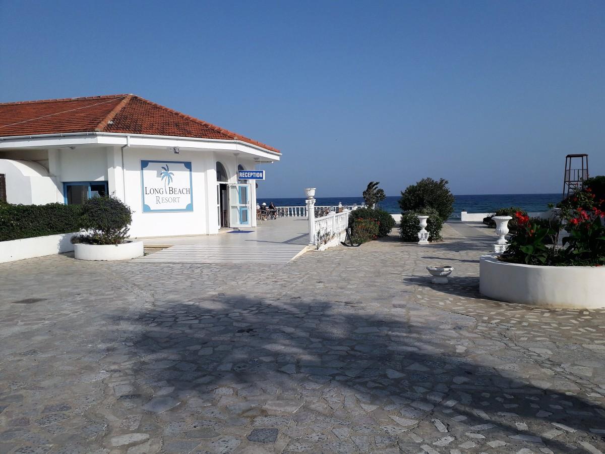 Main resort building.