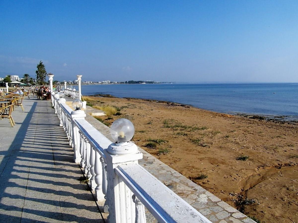 Beachside location.