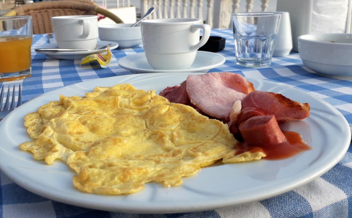 Cooked breakfast.
