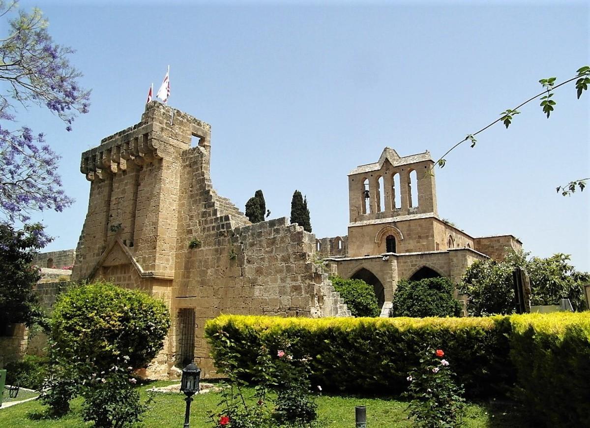Bellapais monastery.