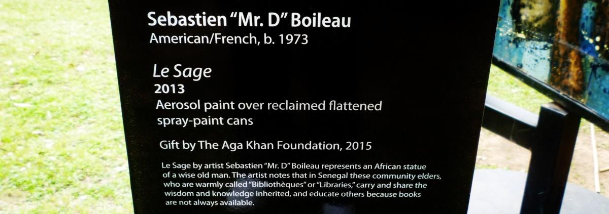 """Explanation regarding this unique piece of art by """"Mr. D."""""""