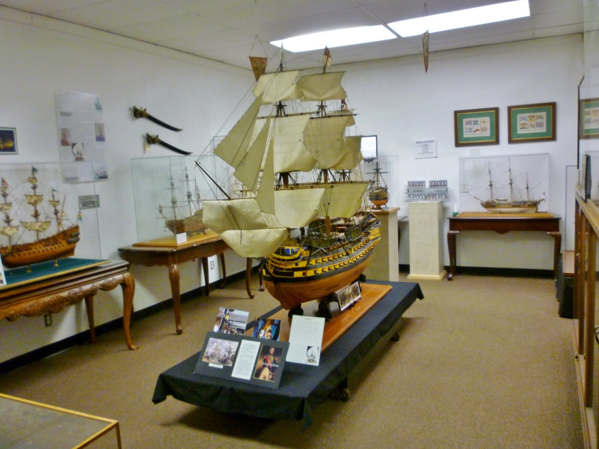 Beautiful models of real ships