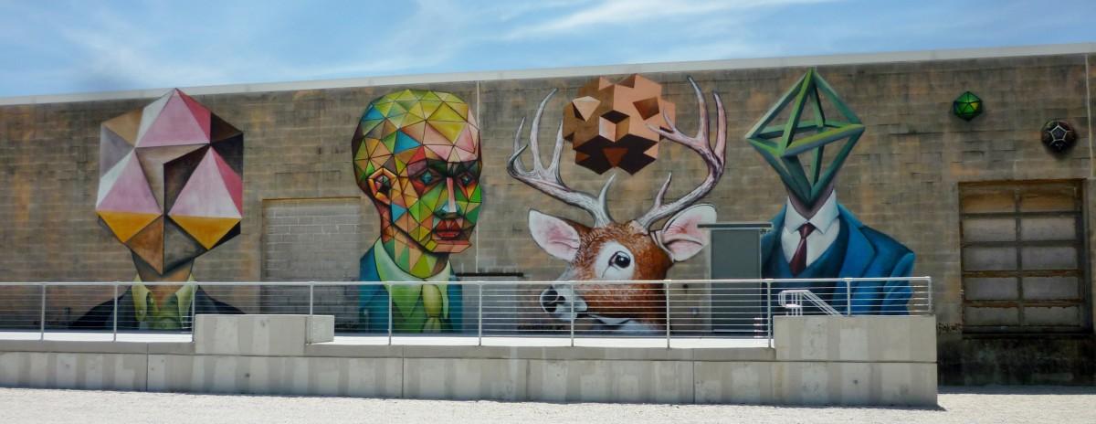 Vincent Fink Mural at Silver Street Studios