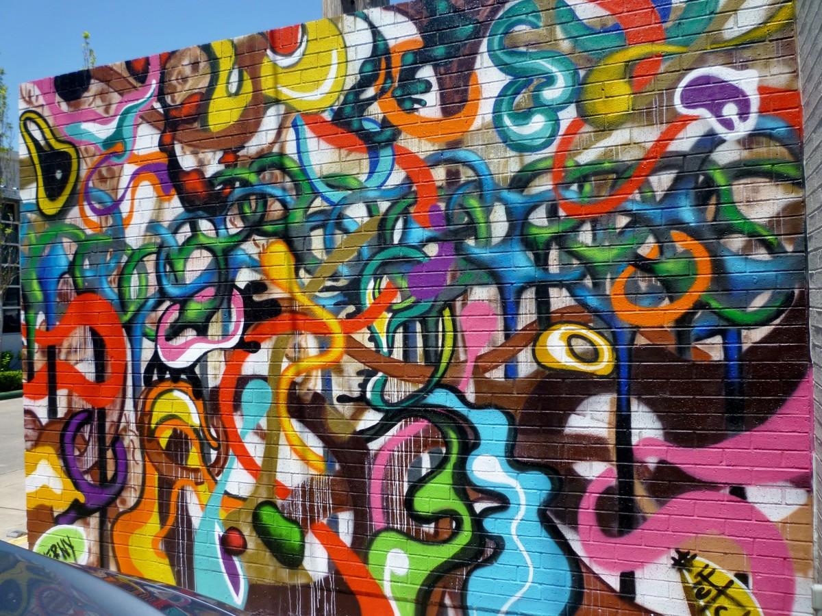 Details on Mural by Verney Sanchez