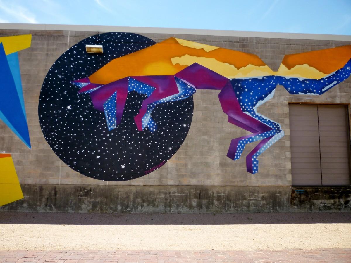 Silver Street Studios Mural by Jose Cordova