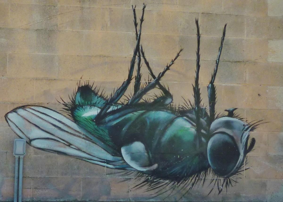 Silver Street Studios Mural by Anat Ronen
