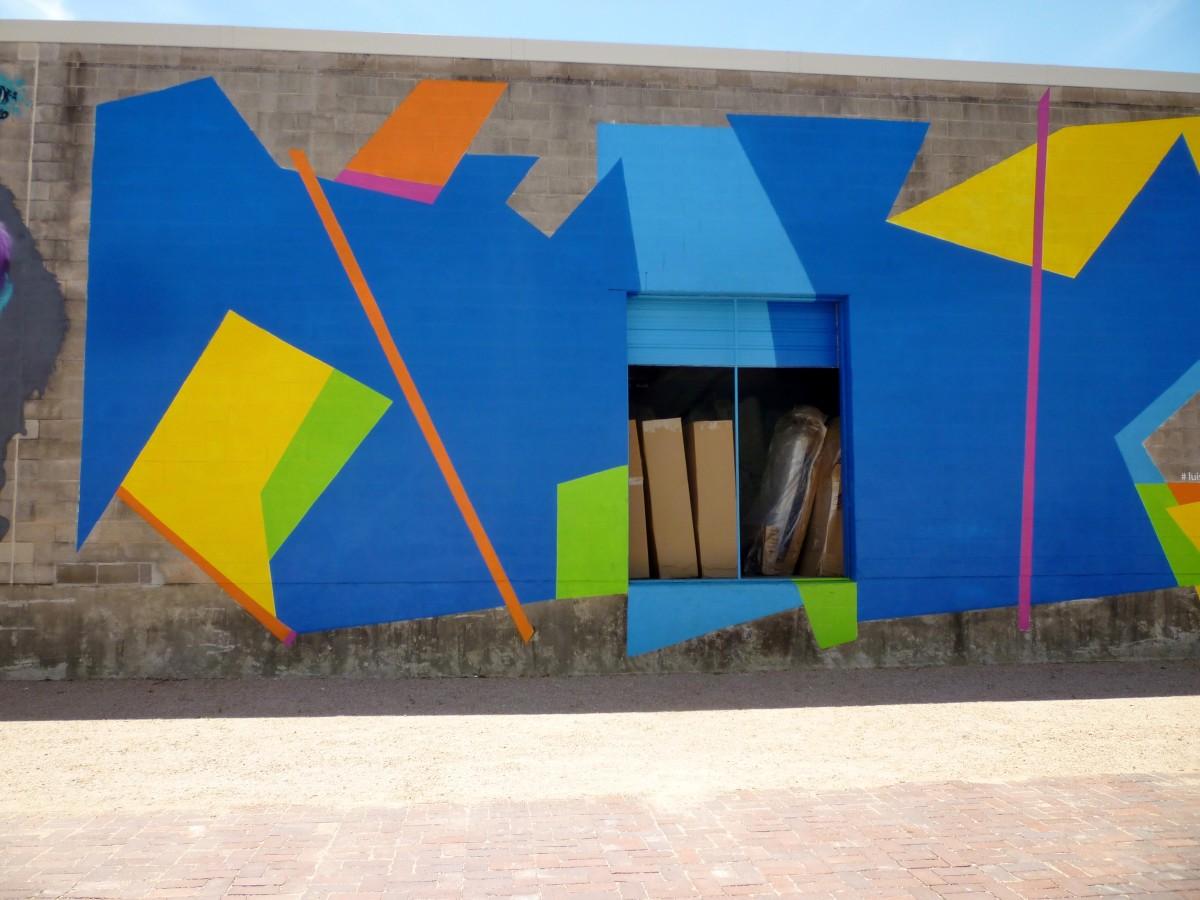 Luisa Duarte Mural at Silver Street Studios