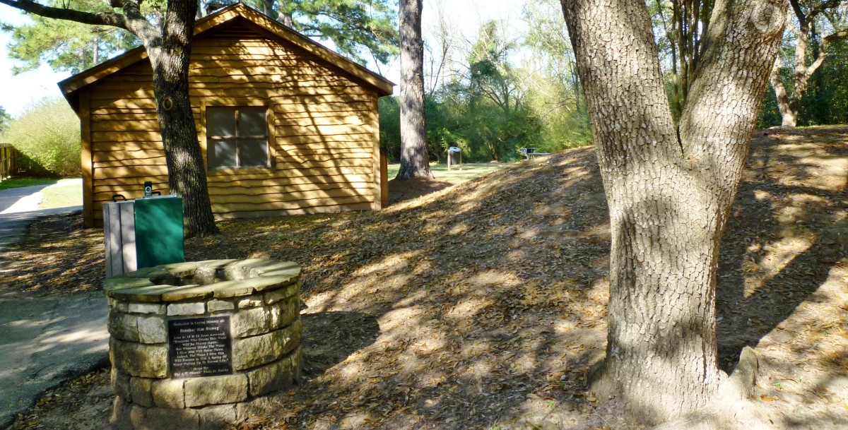 Restrooms available in the Theis Attaway Nature Center