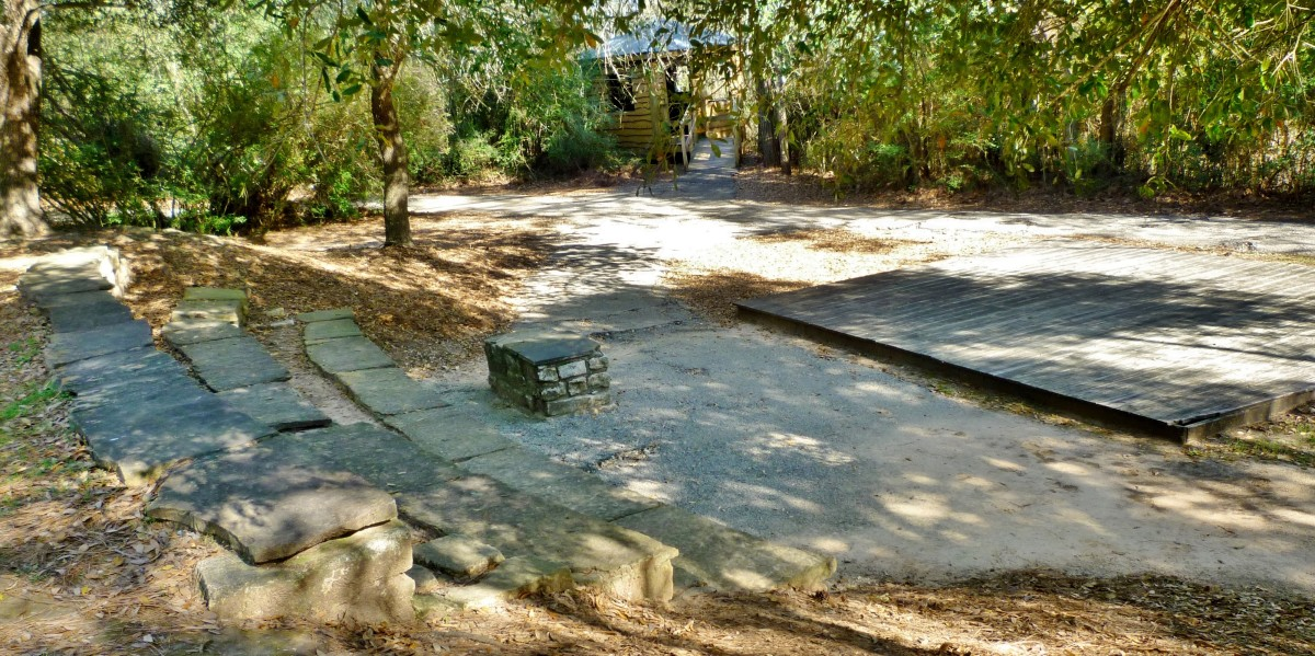 Different view of the Theis Attaway Nature Center Amphitheater